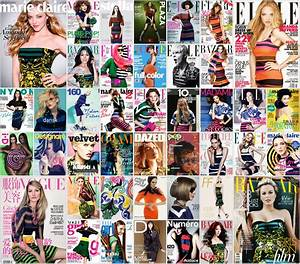 Fashion Magazine Covers Collage | www.pixshark.com ...