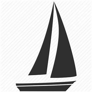Boat, sail, sailboat, sea, transport, travel, yacht icon ...