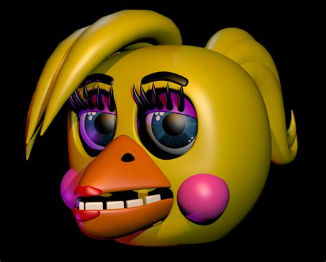 Thicc Toy Chica V.2 (head) By Zylae On Deviantart