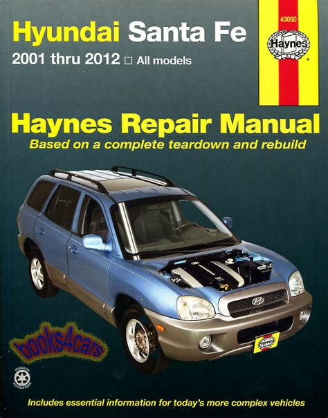 free download parts manuals 2010 hyundai santa fe engine control shop manual santa fe service repair hyundai haynes santafe book chilton ebay