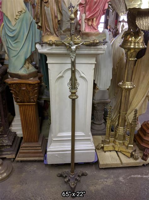 processional cross candle canopy  church items