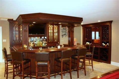 bar stand  wine rack  glassware built ins