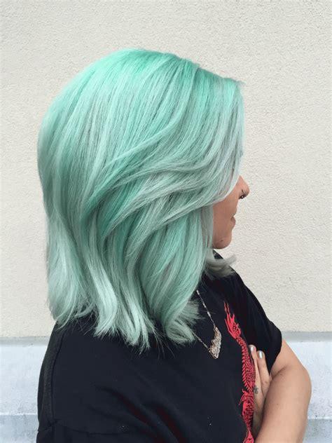 Formula Mystical Mint Hair Color Etc Dyed Hair Hair
