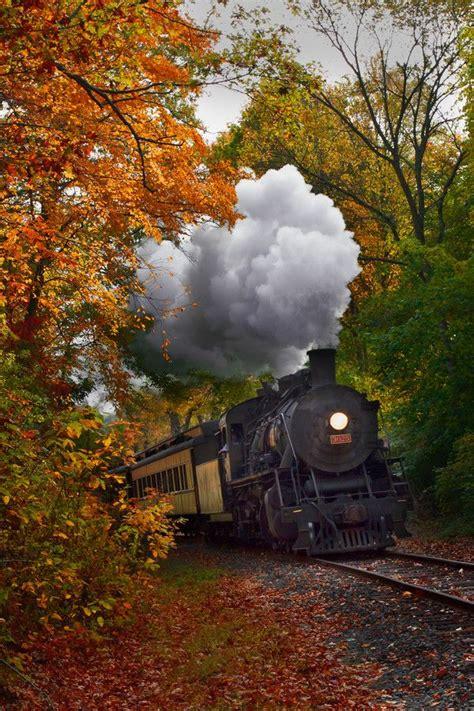 fall train wallpaper wallpapersafari