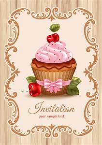 cupcake vintage vector - Google'da Ara | mutfak dekopaj ...