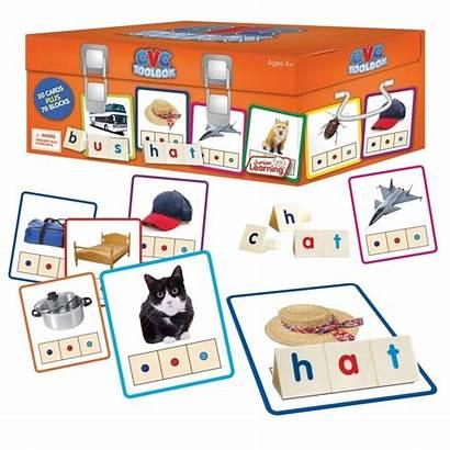 Cvc Toolbox Learning Objects Junior Spelling Rainbow