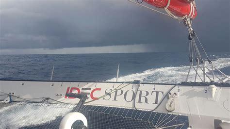 Trimaran Idec by Sailing News Troph 233 E Jules Verne Trimaran Idec Day 35