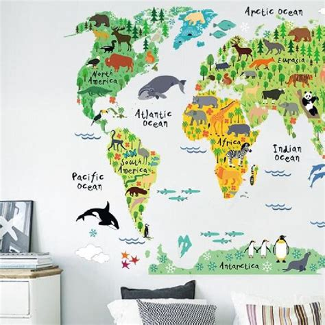 Carte Du Monde En Liège Pas Cher by Les 25 Meilleures Id 233 Es De La Cat 233 Gorie Carte Murale Du