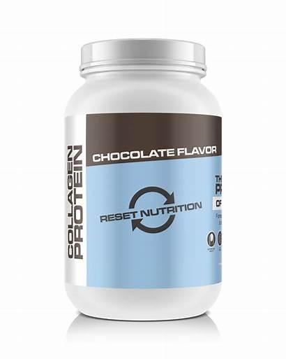 Protein Collagen Nutrition Reset Chocolate Serves 900g