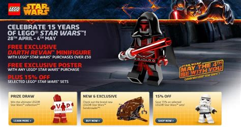 May the Fourth be with You LEGO Star Wars Sale (Europe ...