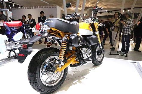 2019 Honda Trail Bikes by 2019 Honda Monkey 125 Concept Motorcycle Joining Grom In