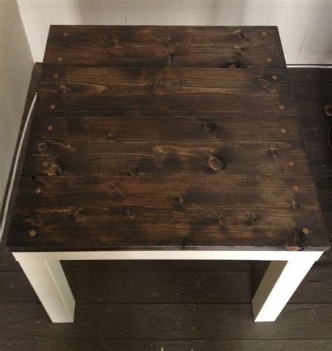 shabby chic ikea lack hack diy lets get crafty in 2019 table basse ikea customiser table