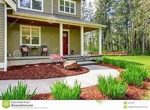 Porche Entrée Maison : ext rieur de maison de campagne vue de porche d 39 entr e et ~ Premium-room.com Idées de Décoration