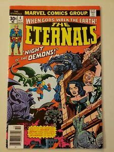 The Eternals # 4 Marvel. Oct 1976. Jack Kirby art / 1st ...