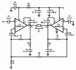 Lm2005 20 Watt Amp Circuit Diagram Electronic Project