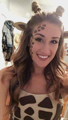 giraffe kostüm selber machen shirt karnevall in 2019 fasching schminken makeup und kost 252 m giraffe