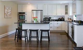 white kitchen cabinets casual cottage