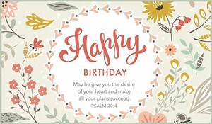 Free Happy Birthday Psalm 204 ECard EMail