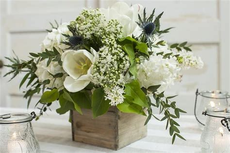 DIY Fresh Flower Centerpiece Kit Rustic Elegance in 2020
