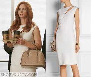 Donna Paulsen Sarah Rafferty Wears This White Cut Out