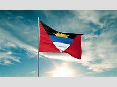 Flag of Antigua and Barbuda 3D max animation HD YouTube