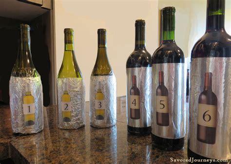 blind wine tasting how to host a blind wine tasting savored journeys