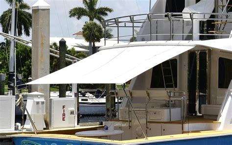 Yacht Awning Cleaning
