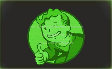 fallout green screen vault boy