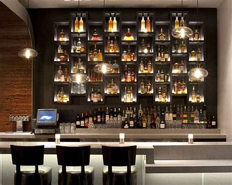 Bar Lighting Ideas by 10 Inspiring Restaurant Bars With Modern Flair