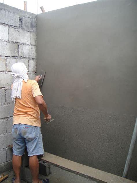Fliesen Legen Schiefe Wände by W 228 Nde Verputzen Gipsputz Diy Plaster Walls Plaster
