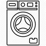 Washing Machine Icon Household Appliance Tool Icons