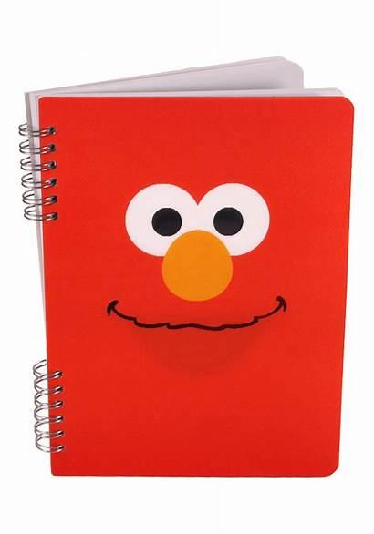 Notebook Spiral Sesame Street Elmo Google
