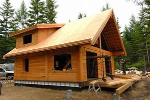 Gulf Islands Cabin Update ⋆ Tamlin Homes Timber Frame