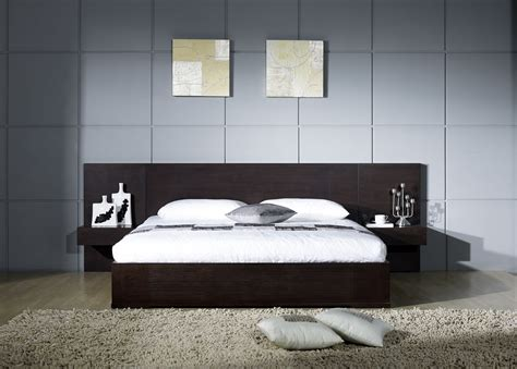 king bed wood frame echo modern bedroom set