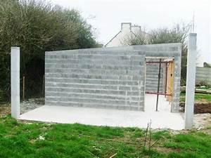 maison en parpaing amazing maison parpaing vende with With garage bois ou parpaing
