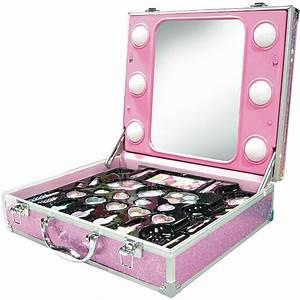 Miroir Avec Lumière Pour Maquillage : valisette maquillage compl te miroir lumi res achat ~ Zukunftsfamilie.com Idées de Décoration