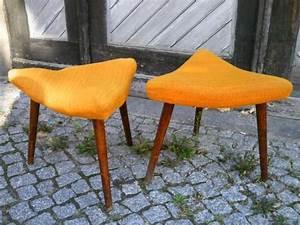 Esszimmerstühle Ebay Kleinanzeigen : 2 dreieckige originale sitzhocker aus den 50er 60ern mit ~ Watch28wear.com Haus und Dekorationen