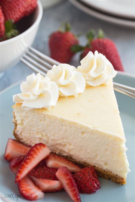 baked vanilla cheesecake recipe video