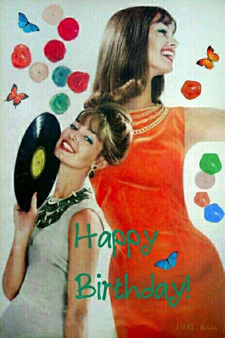 happy birthday retro glamour magazine glamour fifties