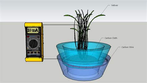 investigation  vetiver grass  bio electricity production  wastewater treatment