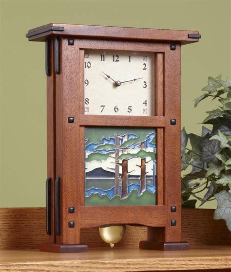 woodworking plans wooden clock design greene greene clock plan hardware schlabaugh sons