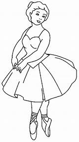 Coloring Ballerina Pages Tutu Barbie Toes Balancing Tips Flower Tulamama sketch template