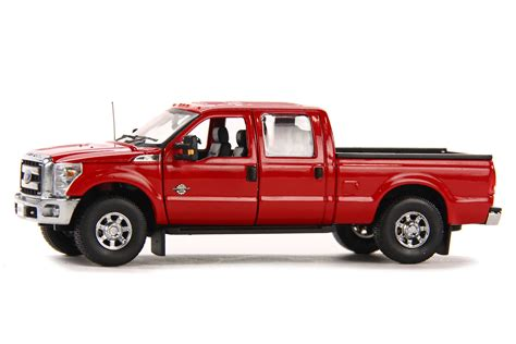 ford  pickup truck wcrew cab ft bed red dhs