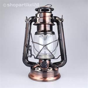 Petroleumlampe Antik Jugendstil : sturmlampe petroleumlampe antik laterne leuchte mit 15 led bronze ~ Pilothousefishingboats.com Haus und Dekorationen