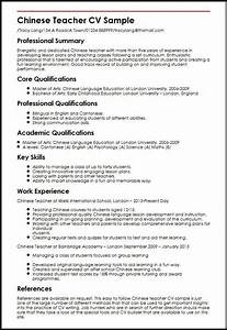 Bilingual teacher resume best resume collection for Create professional cv
