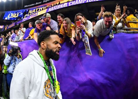 LSU Bans Odell Beckham Jr. From Facilities For 2 Years