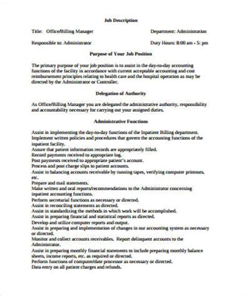 records manager description best resumes