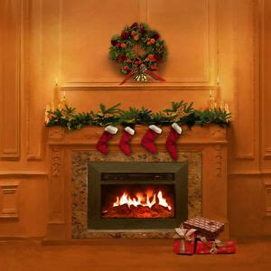 Backdrop With Fireplace by Tree Indoor Fireplace 10x10 Cp Photo Scenic