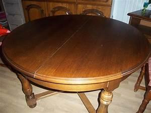 Table Ronde Bois Massif : tables en bois occasion amb rieu en bugey 01 annonces achat et vente de tables en bois ~ Teatrodelosmanantiales.com Idées de Décoration
