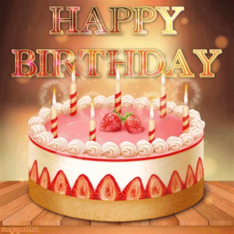 happy birthday cake image gif pictures   images  facebook tumblr pinterest